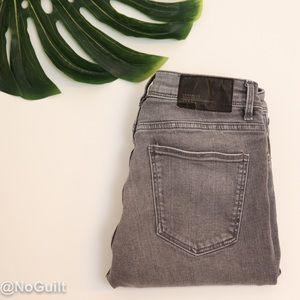Zara Trafaluc Grey Size 2 Skinny Jeans